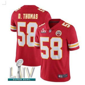 Men's Kansas City Chiefs #58 Derrick Thomas Jersey